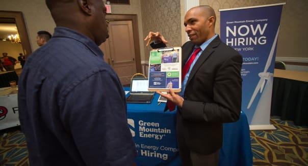 job fair leading economic indicators conference board economy labor market
