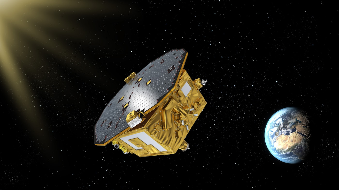 LISA Pathfinder 'listens' to the universe while in freefall