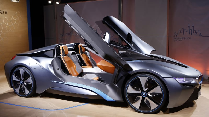 BMW i8 Roadster headed for production in 2018 - Autoblog