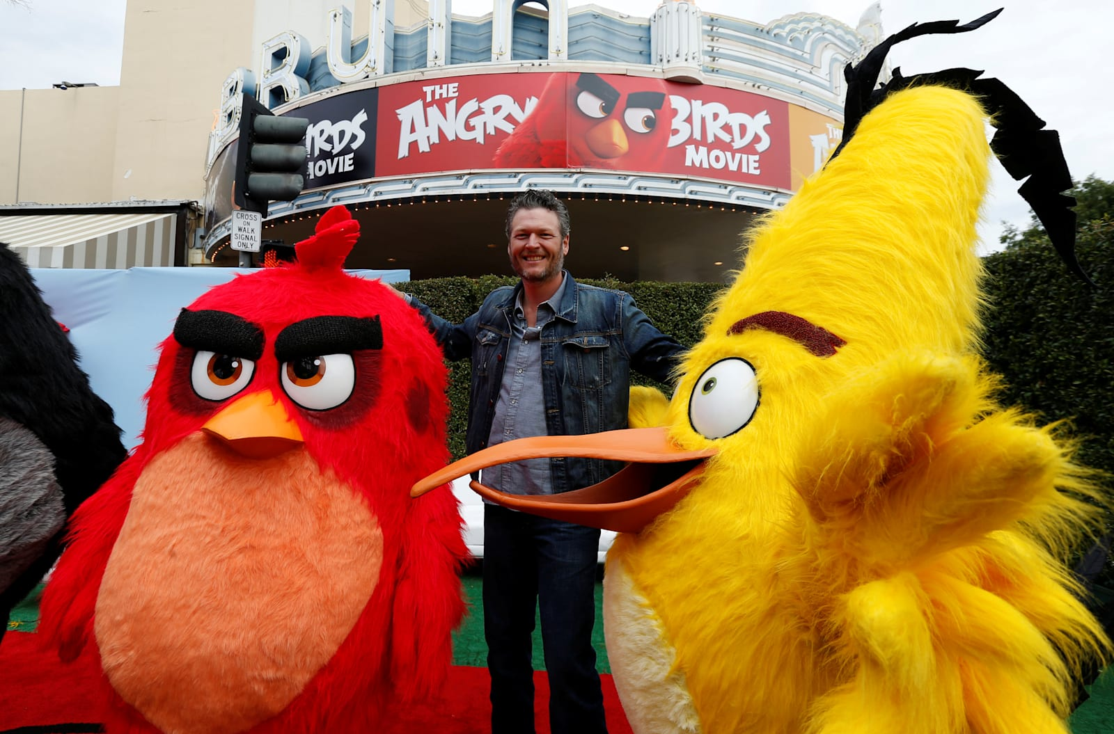 Yes, 'The Angry Birds Movie'