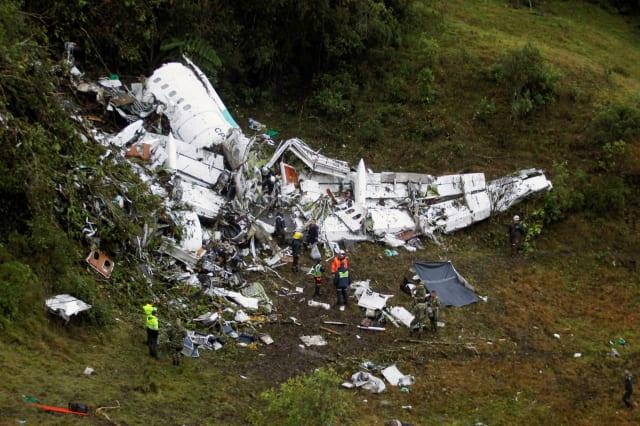 COLOMBIA-CRASH