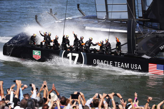 America's Cup: Halftime is Over