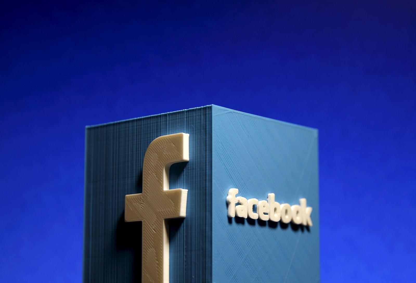 Facebook briefly suspended