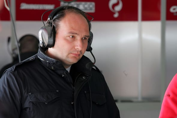 Colin Kolles (GER) Force India F1 Team Principal.Formula One Testing, Day Two, Barcelona, Spain, Wednesday, 14 November 2007.