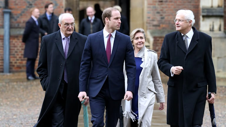 A royal commute: Prince William takes the train to Cambridge