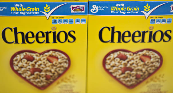 General Mills Brand Products On the Shelf Ahead of Earnings Figures