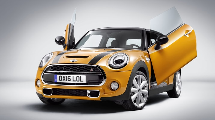 Mini Scissor Doors