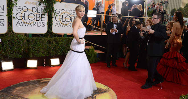 71st Annual Golden Globe Awards red carpet 2014