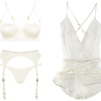 Winter white: Chic white lingerie for the season