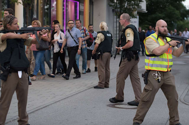 Several dead in shooting at Munich mall