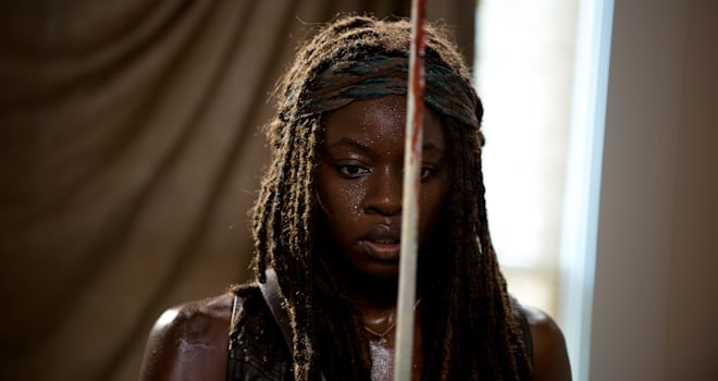 the walking dead, 608, midseason finale, michonne, start to finish