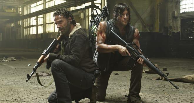 The Walking Dead, Rick, Daryl Dixon