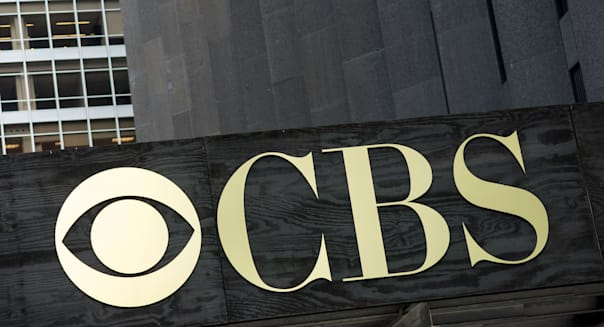 CBS Sign Logo and Building, NYC