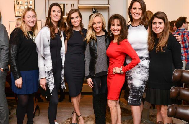 Jennifer Ross, Katie Warner Johnson, Susan Lucci, Nastia Liukin, Allison Williams, Caroline Gogolak, Cristina Ros Blankfein