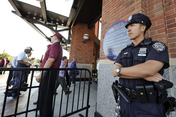 Baseball stadium security