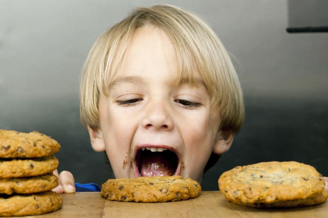 Cookie diet to tackle childhood obesity