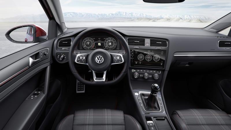 Volkswagen reveals the refreshed 2018 Golf  Autoblog