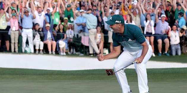 Sergio Garcia wins Masters after one-hole playoff with Justin Rose