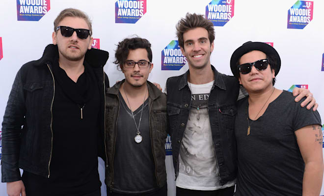 American Authors posing for a picture