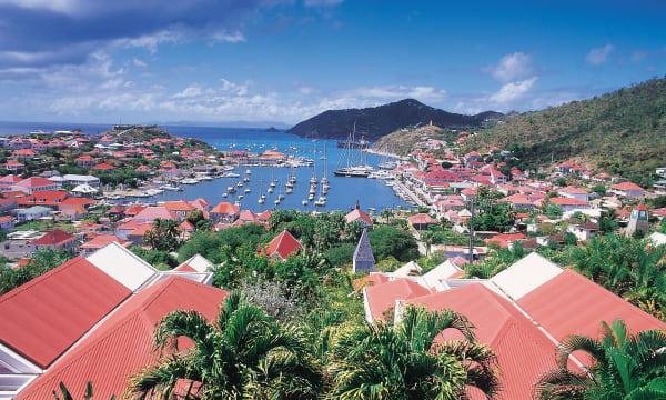 Gustavia, St Bart's, Caribbean