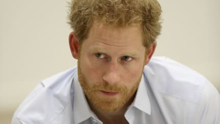 Prince Harry regrets not talking about his mother's death