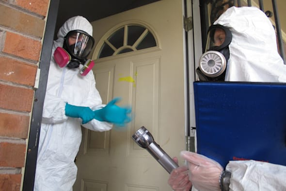 Cleaning Meth Homes