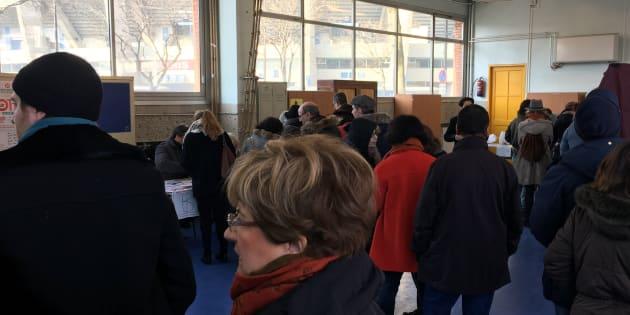 Plus de 400.000 votants à midi — Primaire de gauche