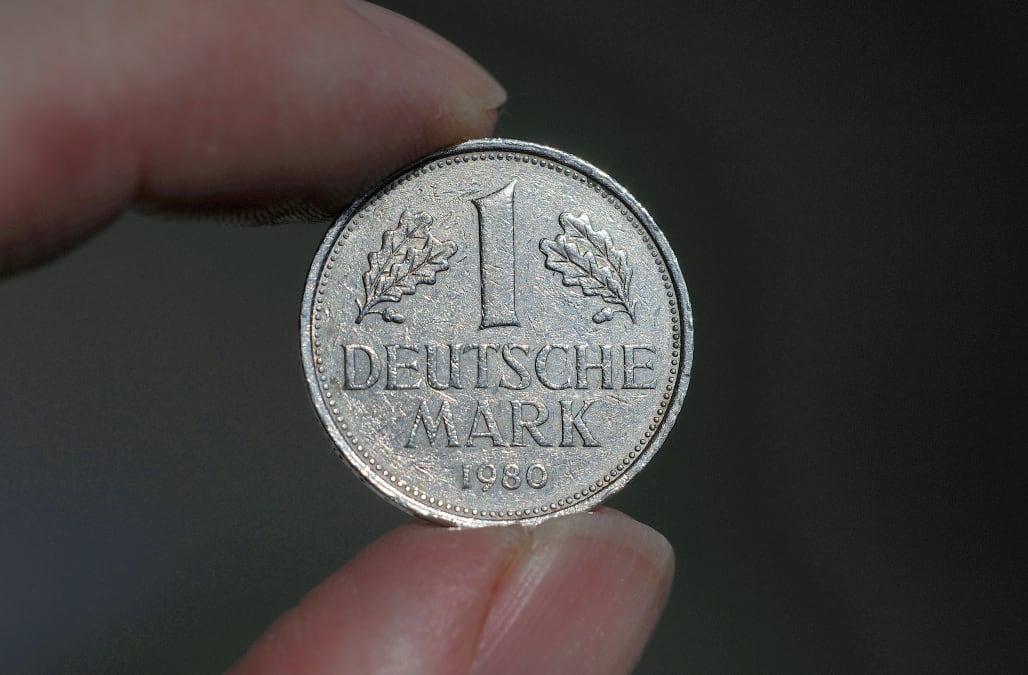 1 Deutsche Mark Munze