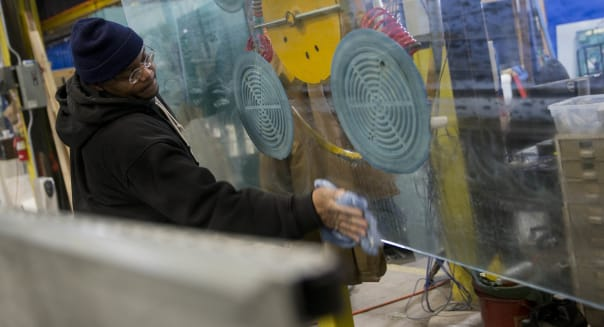 Inside The Maryland Glass And Mirror Co. Ahead Of Factory Orders