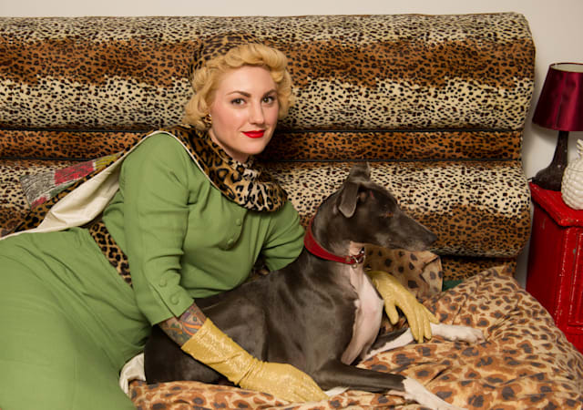 My Vintage Wardrobe: Lori Jade Barker , owner of Grey Hound Vintage, gives us a sneak peak into her amazing vintage wardrobe.