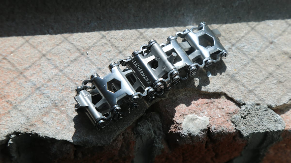 Leatherman's multi-tool bracelet is 29 kinds of dysfunctional