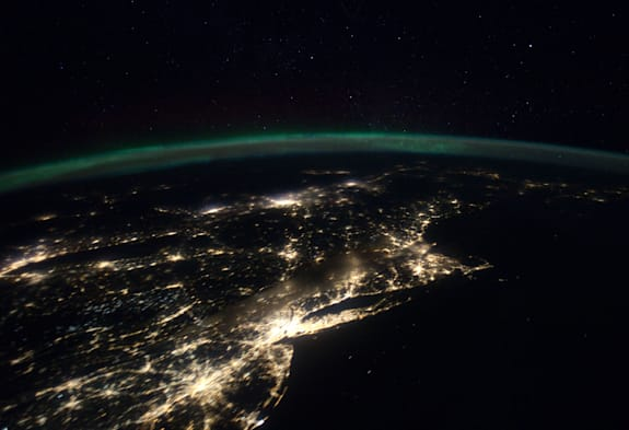 East Coast From Space