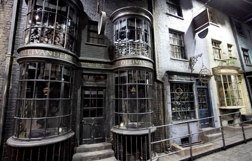 Boris Johnson visits The Making of Harry Potter - London
