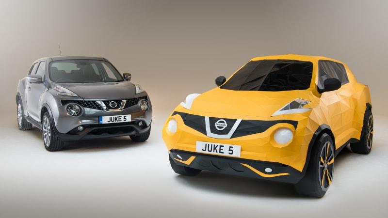 Nissan Juke turns 5, celebrates with origami [w/video]