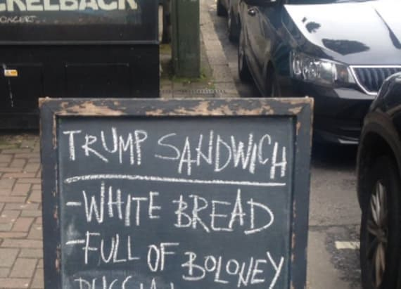 """Trump Sandwich"" trends in cafès around the world"