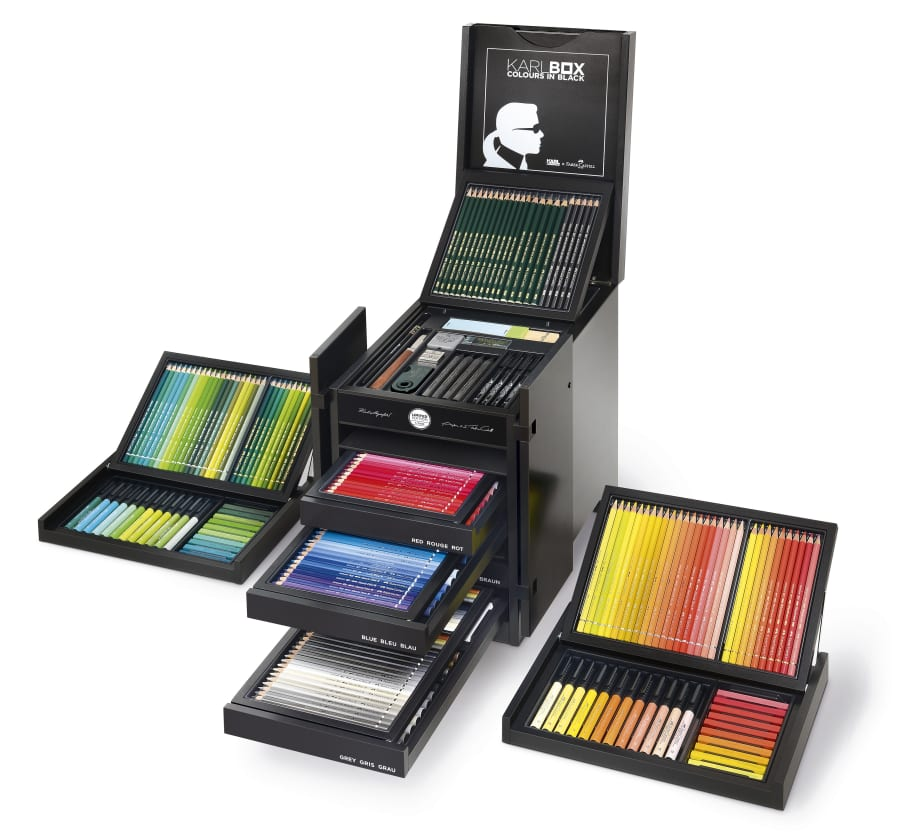 Karl Lagerfeld's $3000 Colored Pencil Set Is Already Sold Out