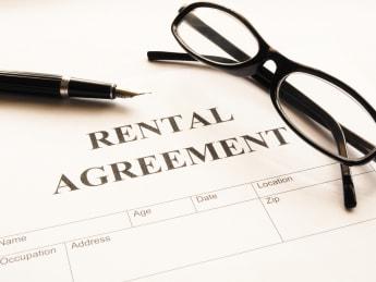 rental agreement form on...