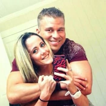 Jenelle Evans and Nathan Griffith