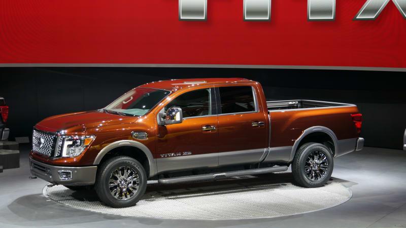 2016 Nissan Titan XD arrives with diesel V8 power
