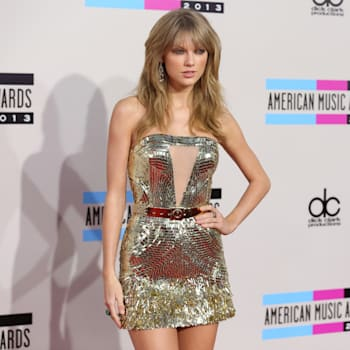 Taylor Swift AMAs dress Rosie Huntington Whiteley One Direction