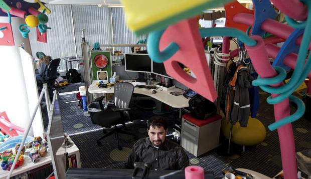 Google's Cambridge Offices