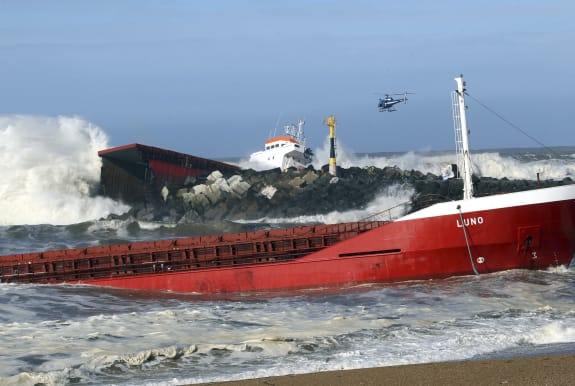 France Cargo Ship Accident