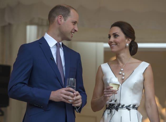 Kate Middleton ha detto al marito William in visita a Varsavia |   Dobbiamo fare altri