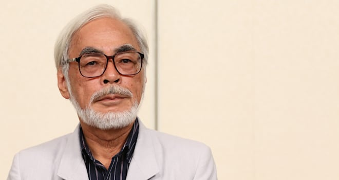 Hayao Miyazaki at His Retirement Press Conference on September 6, 2013