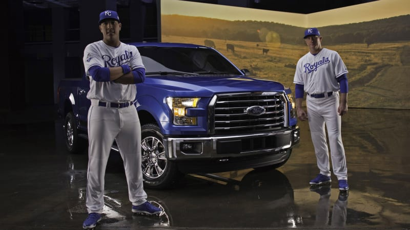 2016 Ford F-150 MVP Edition celebrates Kansas City's World Series title