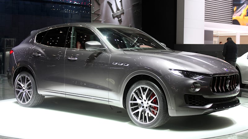 Maserati Levante Is Italyu0027s Answer To The Porsche Cayenne