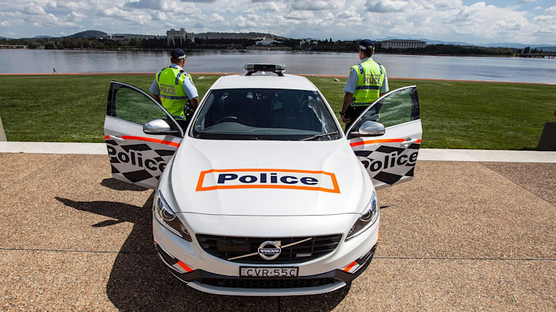 Aussie police trying out wicked Volvo S60 Polestar patrol car