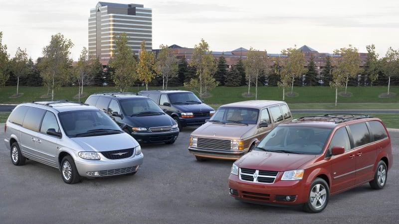 chrysler to reveal next minivan at 2016 detroit auto show autoblog. Black Bedroom Furniture Sets. Home Design Ideas