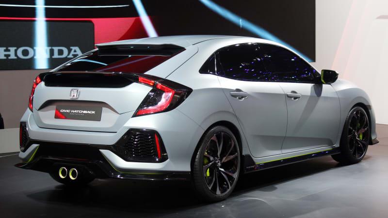 Honda Civic Hatchback prototype unmasked