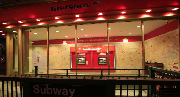 Bank of America branch new york city federal reserve stress tests